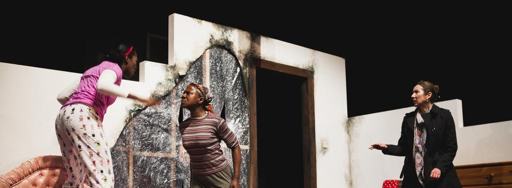Photograph from Some Other Mother - lighting design by Laura Hawkins