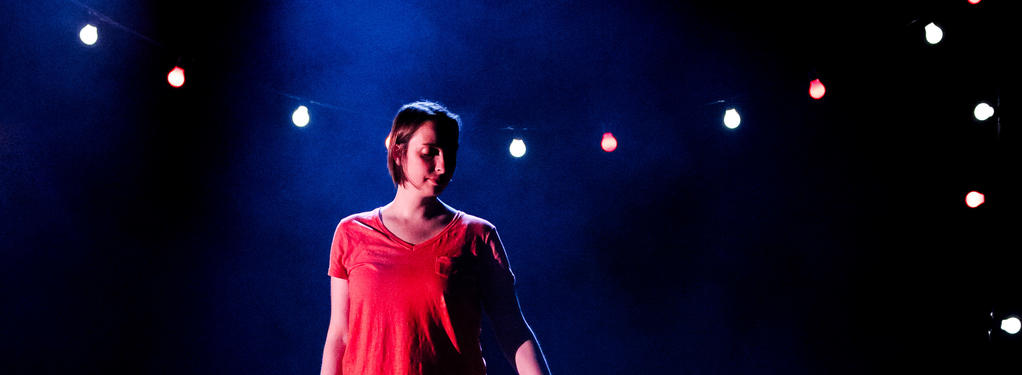 Photograph from Then LEAP! - lighting design by Dan Saggars