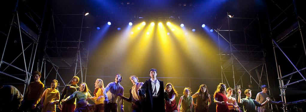 Photograph from Tommy - lighting design by Simon Wilkinson