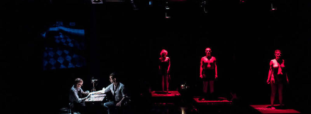 Photograph from Departure (An Experiment in Human Salvage) - lighting design by Marty Langthorne