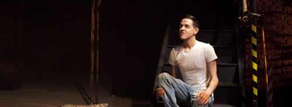 Photograph from 'Working' - lighting design by Nigel Lewis