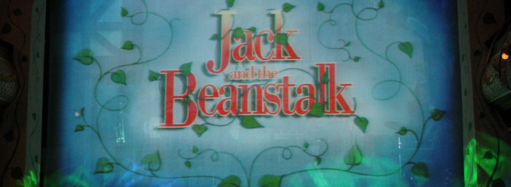 Photograph from Jack and the Beanstalk Rock and Roll Panto - lighting design by Jason Salvin