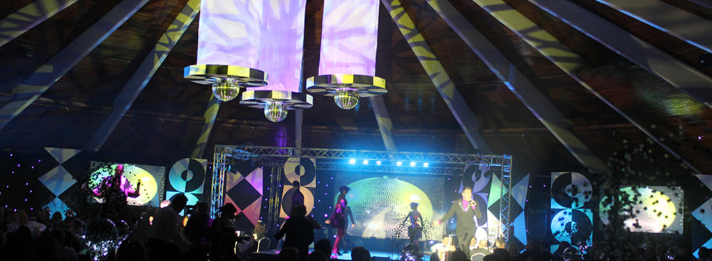 Photograph from Water Aid 2013 - lighting design by Jason Salvin