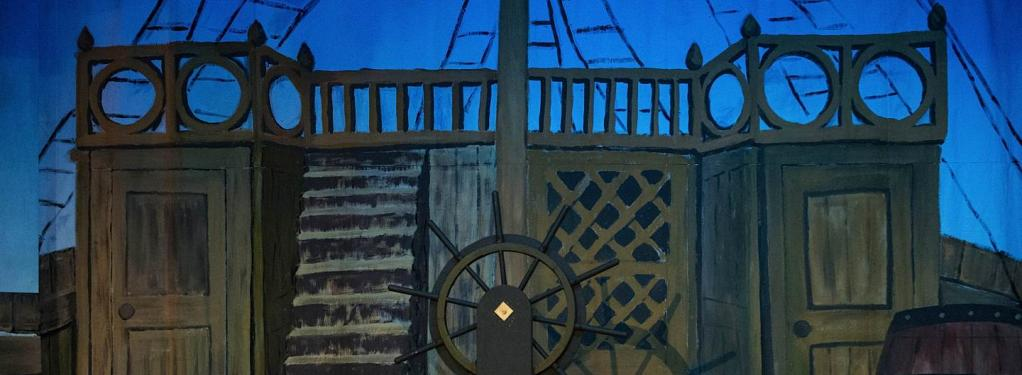 Photograph from Treasure Island - lighting design by Jack Holloway
