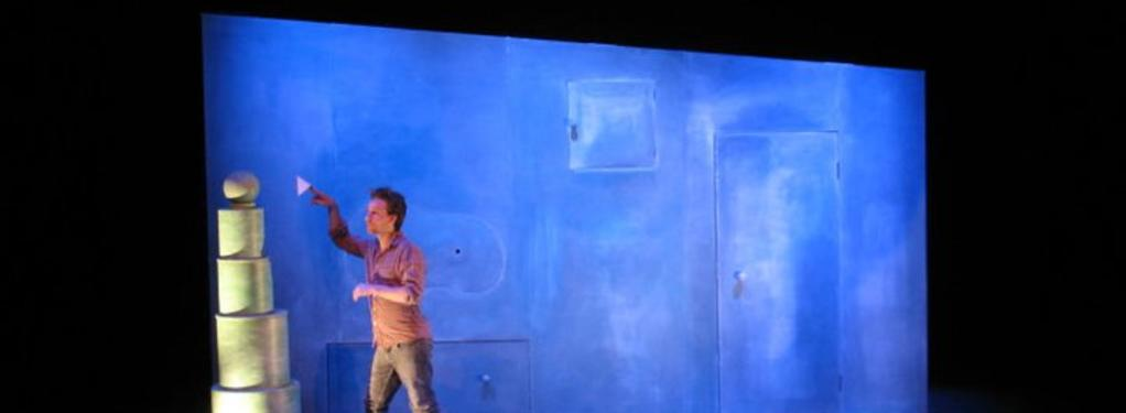 Photograph from Lost and Found - lighting design by Chris Barham