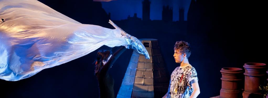 Photograph from Dragon - lighting design by Simon Wilkinson