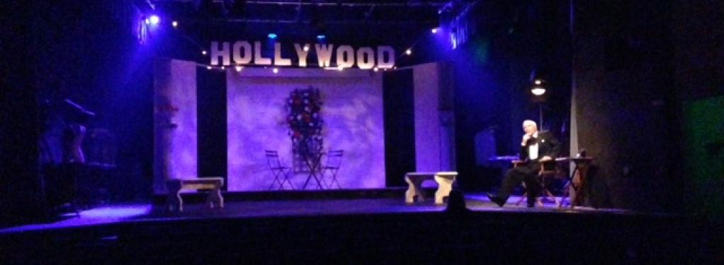Photograph from Shakespeare in Hollywood - lighting design by Jason Salvin