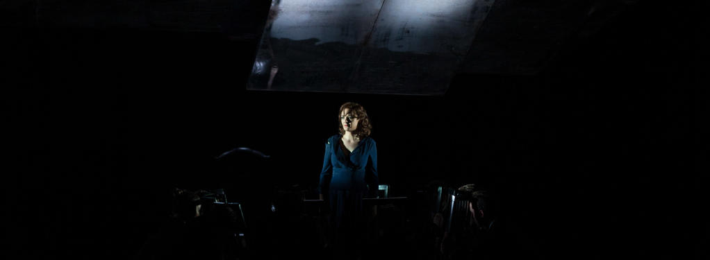 Photograph from Ariodante - lighting design by Jake Wiltshire