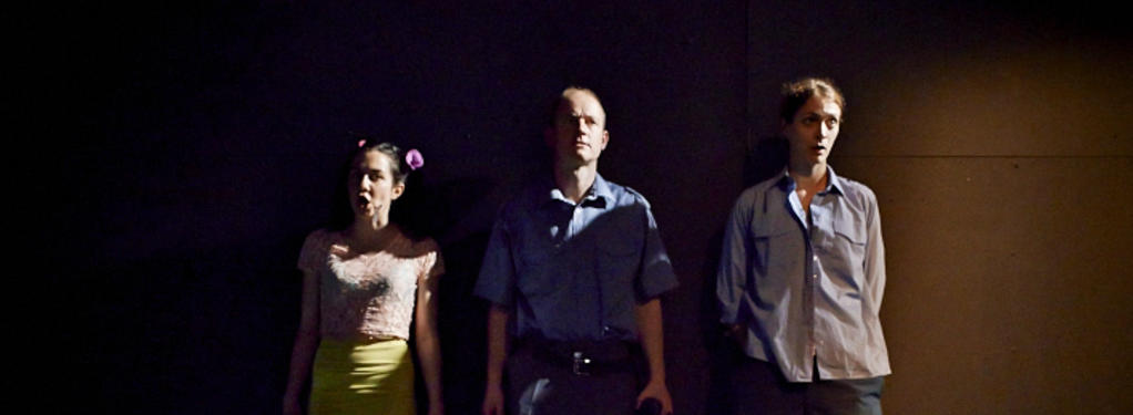 Photograph from Roberto Zucco - lighting design by Katy Morison