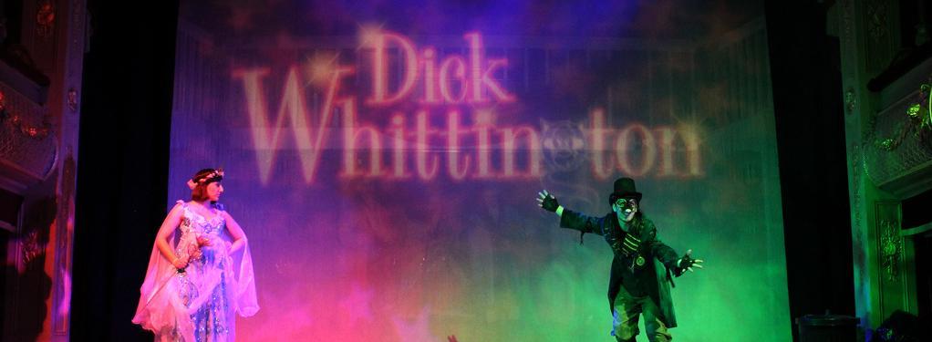Photograph from Dick Whittington - lighting design by Jason Salvin