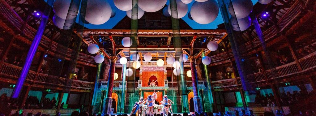 Photograph from A Midsummer Night's Dream - lighting design by Malcolm Rippeth