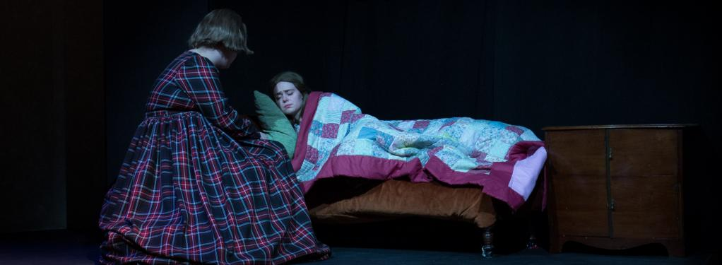 Photograph from Little Women - lighting design by Peter Vincent