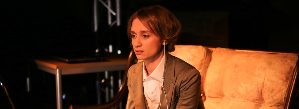 Photograph from Rumble! - lighting design by Nigel Lewis