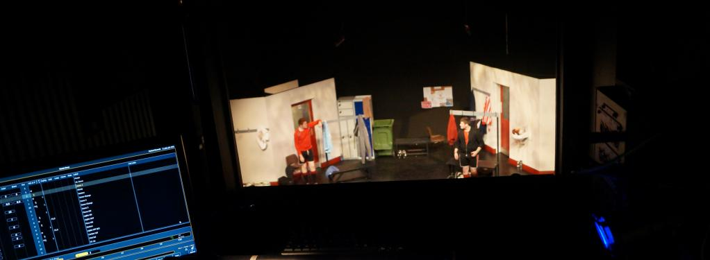 Photograph from Hearts - lighting design by Jason Addison