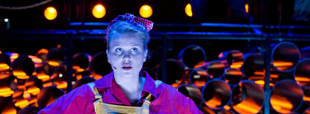Photograph from Urinetown - lighting design by Manuel Garrido Freire