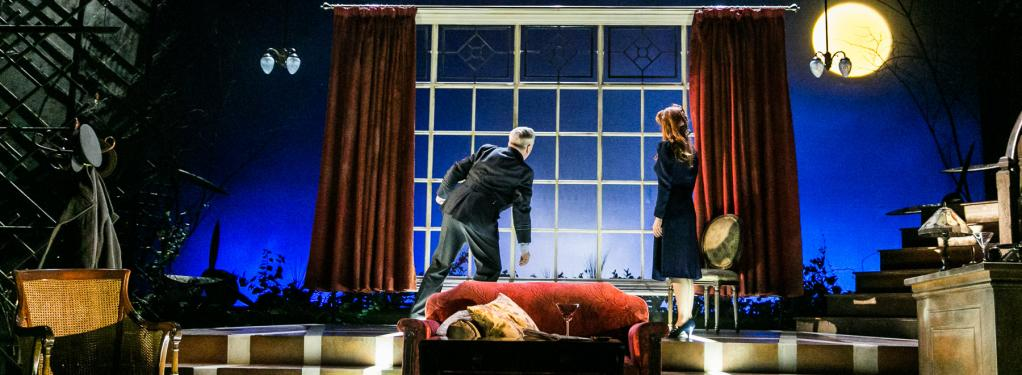 Photograph from Flare Path - lighting design by Alex Wardle