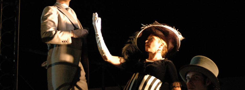 Photograph from My Fair Lady - lighting design by David Totaro