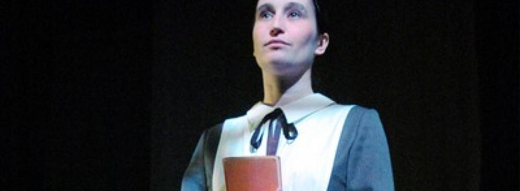 Photograph from Lady Chatterly's Lover - lighting design by Will Evans
