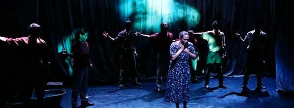 Photograph from Yerma - lighting design by Peter Harrison