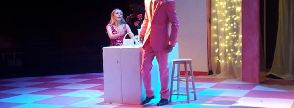 Photograph from Legally Blonde - The Musical - lighting design by RaefnW