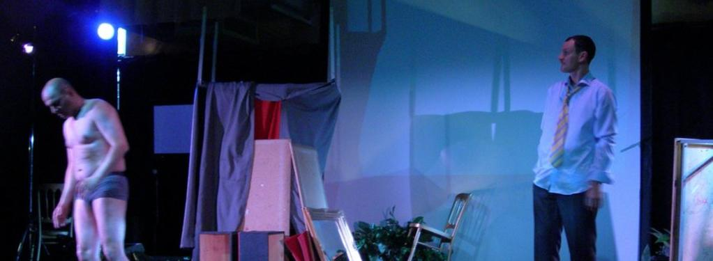 Photograph from Timon of Athens - lighting design by Ian Saunders