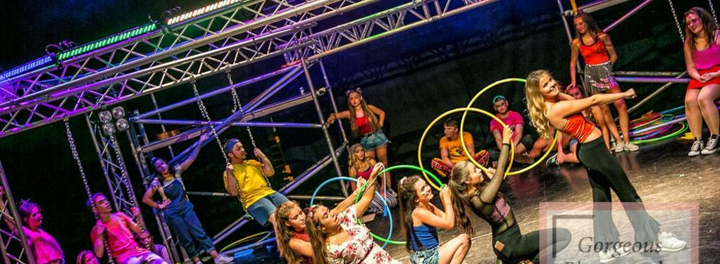 Photograph from Godspell - lighting design by smcalister125