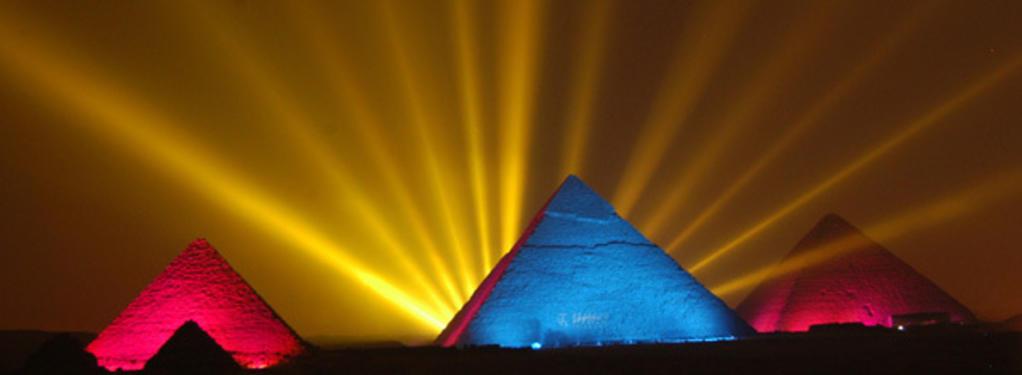 Photograph from Orascom Telecom - lighting design by Durham Marenghi