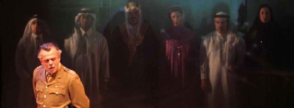 Photograph from Richard III - An Arab Tragedy - lighting design by Richard Williamson