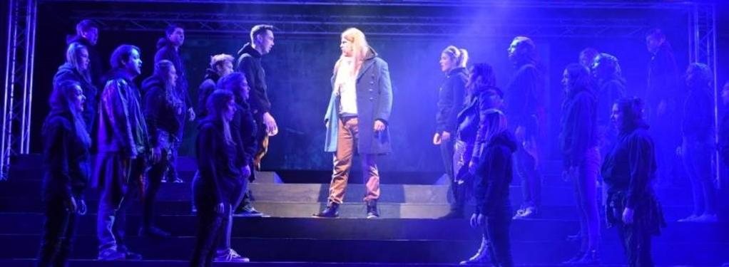 Photograph from Jesus Christ Superstar - lighting design by James McFetridge