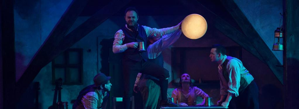 Photograph from The Colleen Bawn - lighting design by James McFetridge