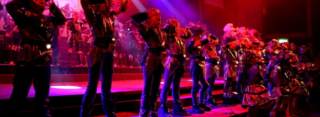 Photograph from Showtime 2007 - lighting design by Richard Williamson