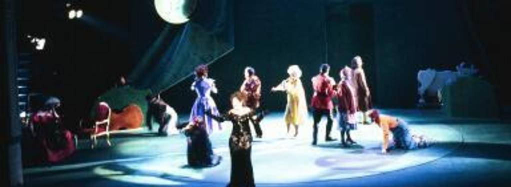 Photograph from Into The Woods - lighting design by Richard Jones