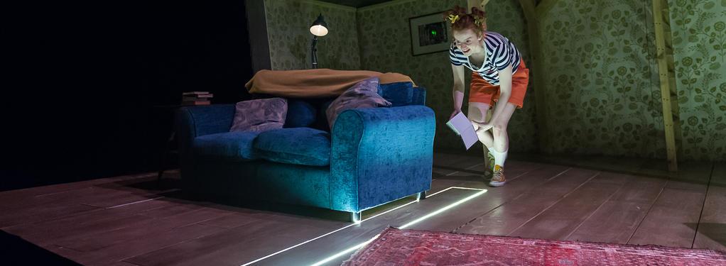 Photograph from To Dream Again - lighting design by Jamie Platt