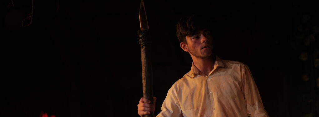 Photograph from Lord of the Flies - lighting design by jackfenton