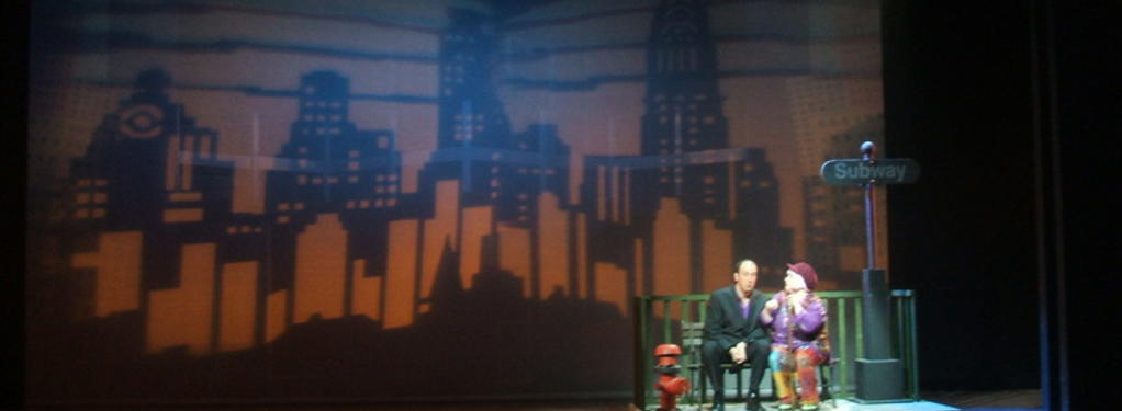 Photograph from Company - lighting design by Pete Watts