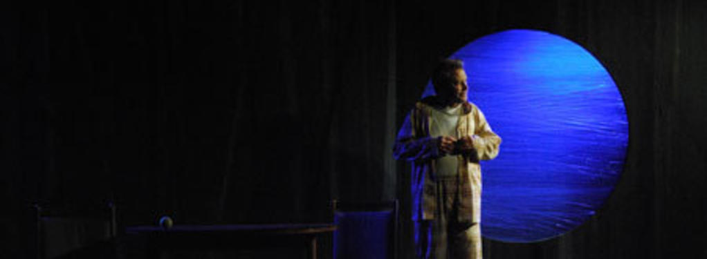 Photograph from Kill the Wolf - lighting design by Scott Allan