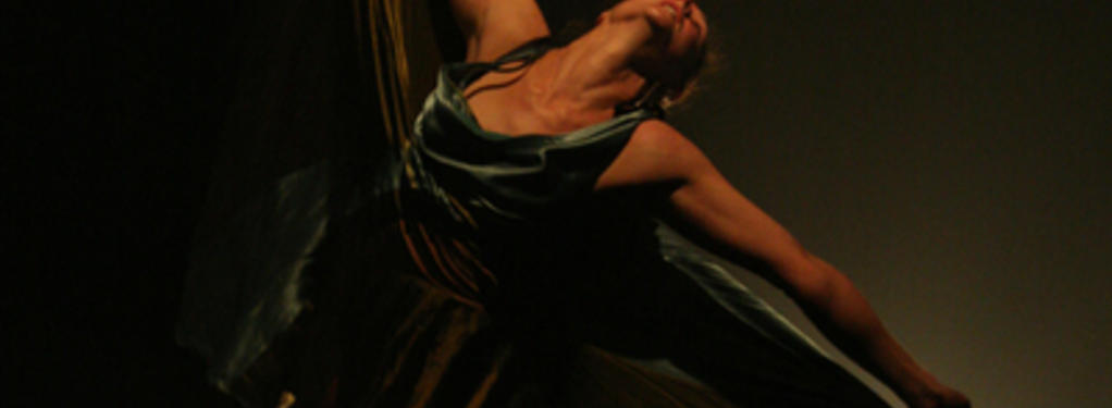 Photograph from Designer Body - lighting design by Malcolm Rippeth