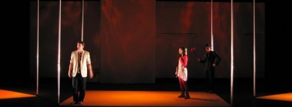 Photograph from La Calisto - lighting design by Jake Wiltshire