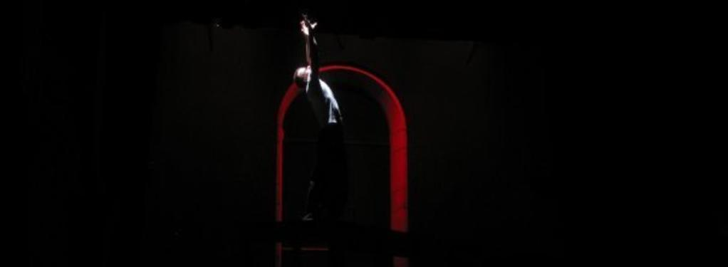 Photograph from Don Giovanni - lighting design by Jake Wiltshire