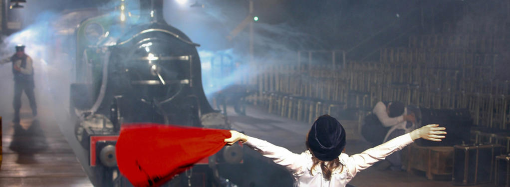 Photograph from The Railway Children - lighting design by Richard Jones