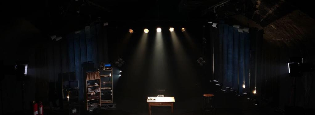 Photograph from The Psychic Project - lighting design by Joseph Ed Thomas