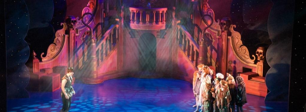 Photograph from Peter Pan - lighting design by Simon Wilkinson
