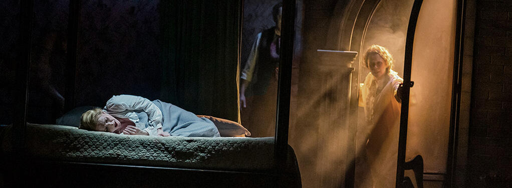 Photograph from Turn of the screw - lighting design by Matthew Haskins