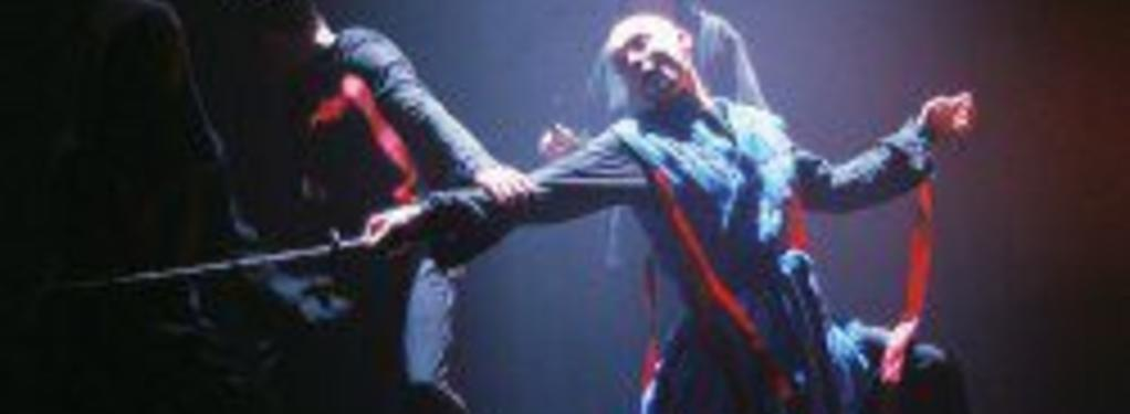 Photograph from Macbeth - lighting design by Malcolm Rippeth