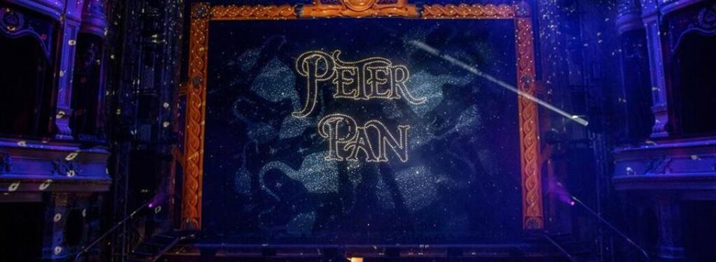 Photograph from Peter Pan - lighting design by Pete Watts