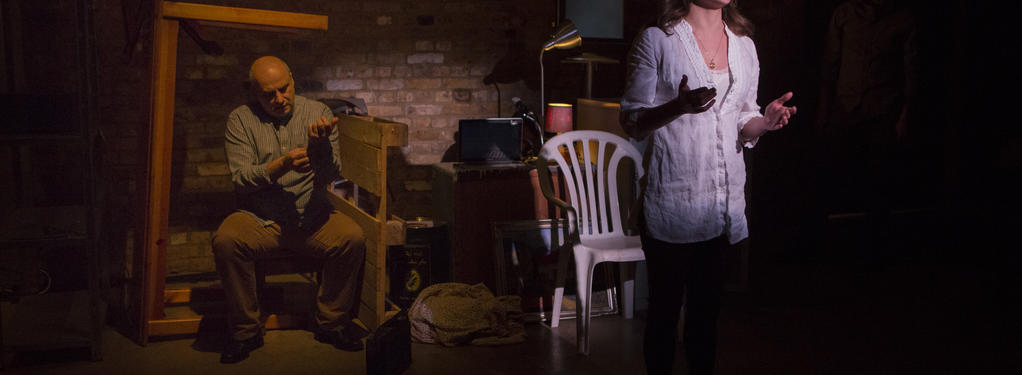 Photograph from Scenes From 68 Years - lighting design by Marty Langthorne