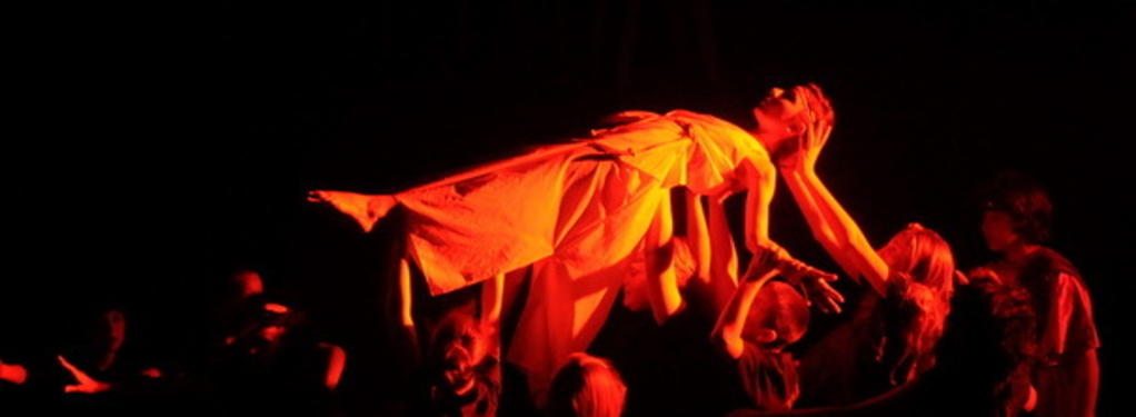 Photograph from Element Soup - lighting design by Nigel Lewis
