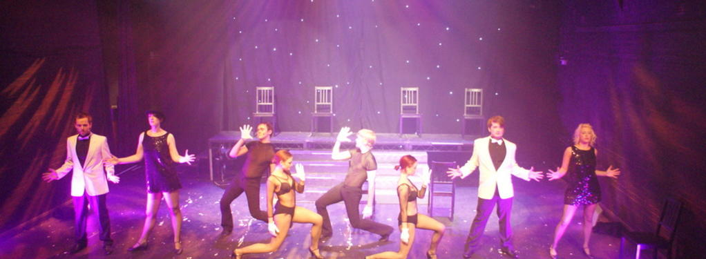 Photograph from Red Hot and Jazz - lighting design by Nigel Lewis