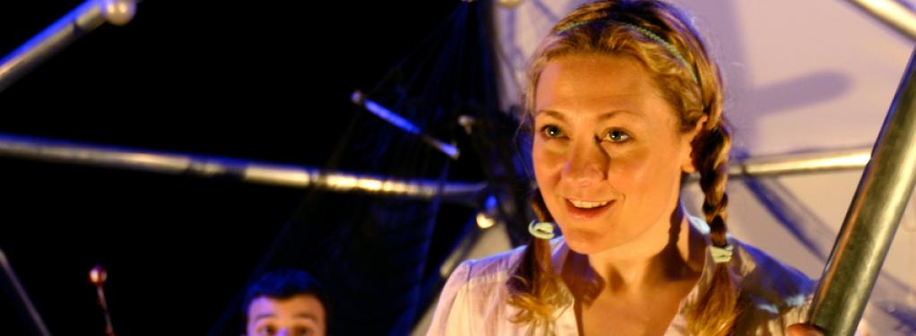 Photograph from Twinkle Twonkle - lighting design by Will Evans