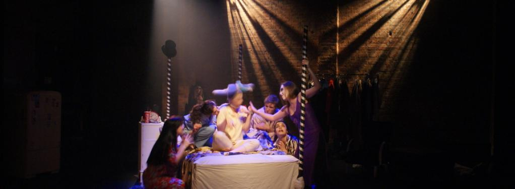 Photograph from Midsummer Nights Dream - lighting design by Catherine Webb